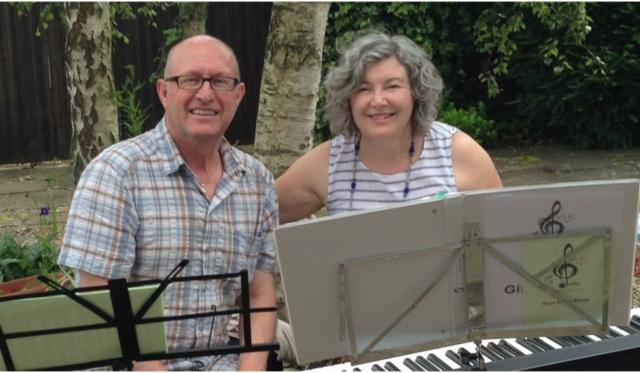 Summer singing at Helmsley Arts Centre Courtyard