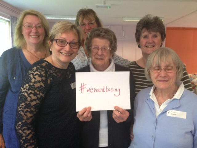 Pickering ladies want to sing